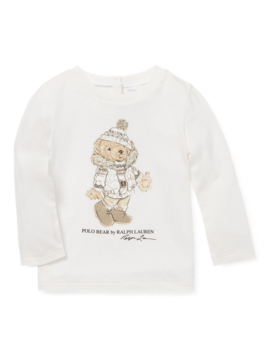 Ice Skating Bear T Shirt by Ralph Lauren