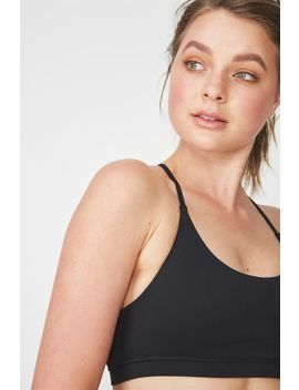 Essential Strappy Sports Crop by Cotton On