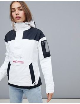 Columbia Challenger Pullover In White by Columbia