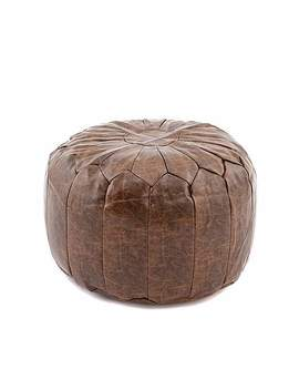 Moroccan Stitched Pouffe by Dunelm