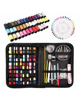 Sewing Kit, Over 100 Xl Sewing Supplies, Zipper Portable Sew Kits For Adults, Kids, Diy, Traveler, Beginner, Emergenc   With Mending And Sewing Needles, Scissors, Thimble, Thread,Tape Measure Etc by Mekuula