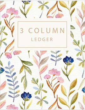 3 Column Ledger: Record Book Account Journal Book Accounting Ledger Notebook Business Bookkeeping Home Office School 8.5x11 Inches 100 Pages: Volume 3 (Column Ledger Notebook) by Amazon