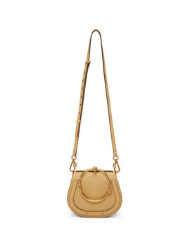 Beige Small Nile Satchel by ChloÉ