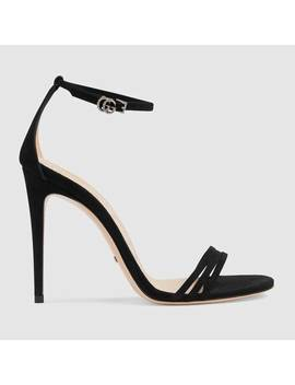 Suede Sandal by Gucci