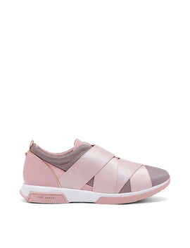Queanem Strap Detail Trainers by Ted Baker