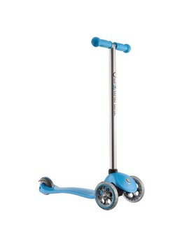 Globber 3 Wheel Fixed Scooter   Blue/Chrome by Globber