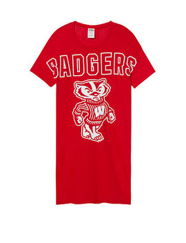 University Of Wisconsin Campus Tee Dress by Victoria's Secret