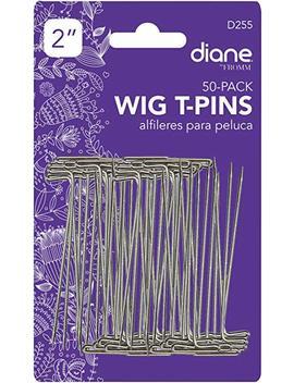 Diane Wig T Pins, 2 Inch, 50 Piece, 0.3 Pound by Diane