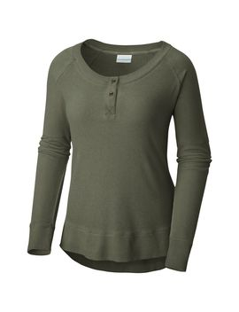 Women's Fall Pine™ Washed Henley by Columbia Sportswear