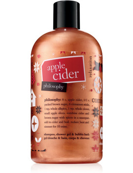 Apple Cider Shampoo, Shower Gel & Bubble Bath by Philosophy