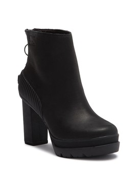 Dacie Waterproof Leather Bootie by Sorel