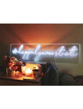 Instagram Account/ Hashtags/ Customised @/# Account Name / Custom Neon Sign/ Custom Light Wedding Photobooth Decor/ Neon Signs For Room Bars by Etsy