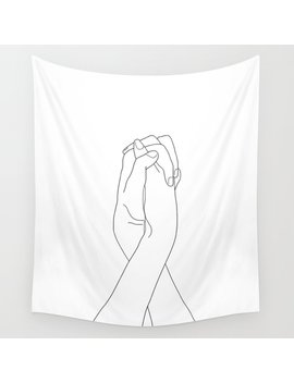 Never Let Me Go Ii Wall Tapestry by