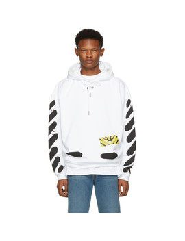 White Spray Paint Hoodie by Off White