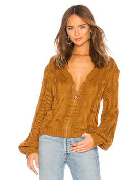 Charlotte Zip Cardigan by For Love & Lemons