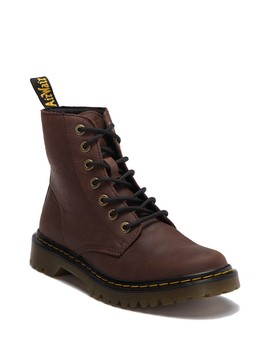 Luana Leather Lace Up Boot by Dr. Martens