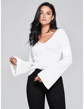 Marciano V Neck Sweater by Guess