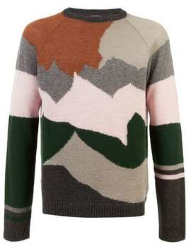 Colour Block Jumper by Lanvin