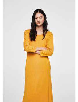 Basic Knit Dress by Mango