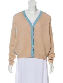 Cashmere V Neck Cardigan by Prada