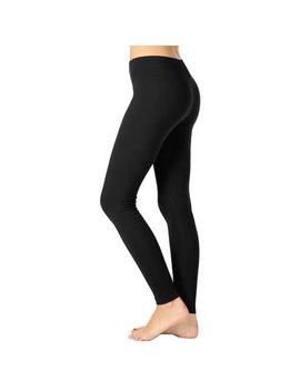 Kogmo Womens Premium Cotton Full Length Leggings Multi Colors (S Xl) by Kogmo