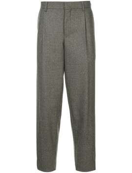 Houndstooth Tapered Trousers by Kolor