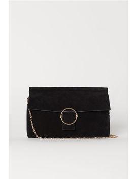 Suede Clutch Bag by H&M