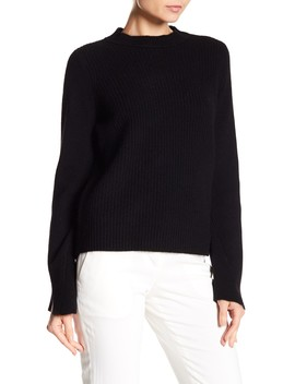 Anna Ribbed Cashmere Sweater by 360 Cashmere