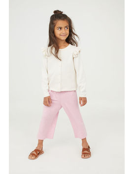 Viscose Trousers With Smocking by H&M
