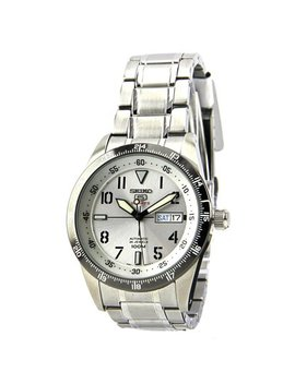 Seiko 5 Automatic Stainless Steel Silver Men Watch by Seiko