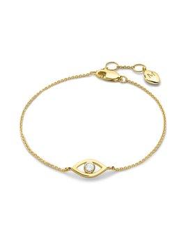Evil Eye White Topaz Bracelet by Missoma