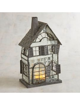 Haunted House Halloween Tealight Candle Holder by Midnight Carnival Collection