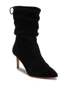 Nichole Leather Slouch Boot by Kensie