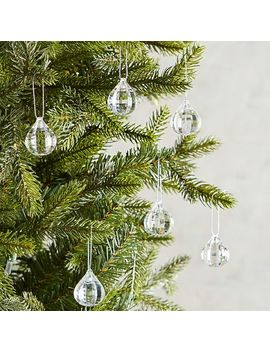 Clear Gem Ornaments Boxed Set by Pier1 Imports