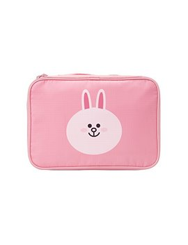 Line Friends Cony Travel Pouch by Line Friends