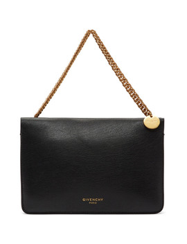 Black Cross3 Zipped Bag by Givenchy