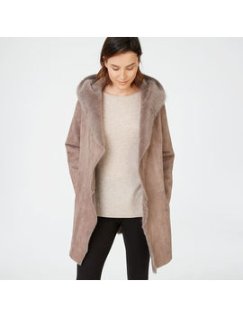 Kamile Shearling Coat by Club Monaco
