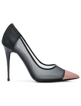 Contrast Pointed Pumps by Tom Ford
