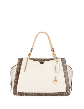 Dreamer 36 Exotic Colorblock Satchel Bag by Coach