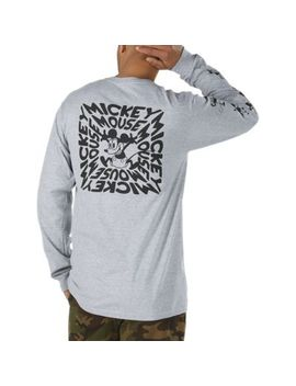 Disney X Vans Mickey Mouse's 90th Plane Crazy Long Sleeve T Shirt by Vans