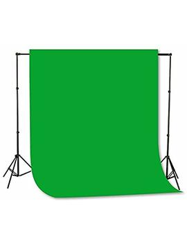 Fancierstudio Green Screen Background Stand Backdrop Support System Kit With 6ft X 9ft Chromakey Green Muslin Backdrop By Fancierstudio H804 6x9 G by Fancierstudio