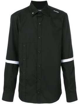 Striped Sleeve Shirt by Icosae