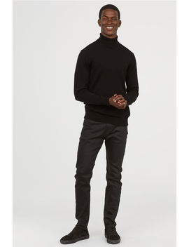 Coated Skinny Jeans by H&M