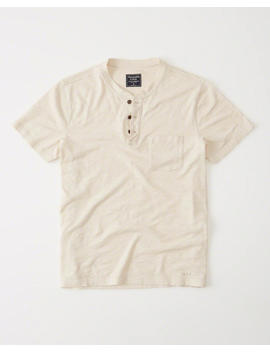 Pocket Henley by Abercrombie & Fitch