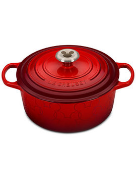 Mickey Mouse 4.5 Qt. Round Dutch Oven by Le Creuset