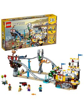 Lego Creator 3in1 Pirate Roller Coaster 31084 Building Kit (923 Piece) by Lego