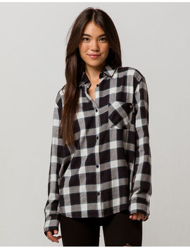 Element Worth It Womens Flannel Shirt by Element