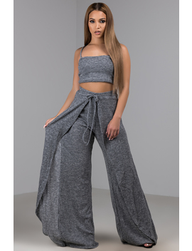 No Brainer Wide Leg Pant by Akira