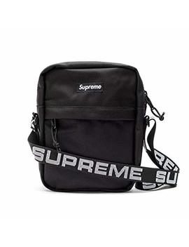 Supreme Fanny Pack, Supreme Bag, Wasit Packs 18 Ss (Black) by S Upreme