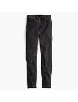 "10"" Highest Rise Toothpick Jean With Let Down Hem by J.Crew"